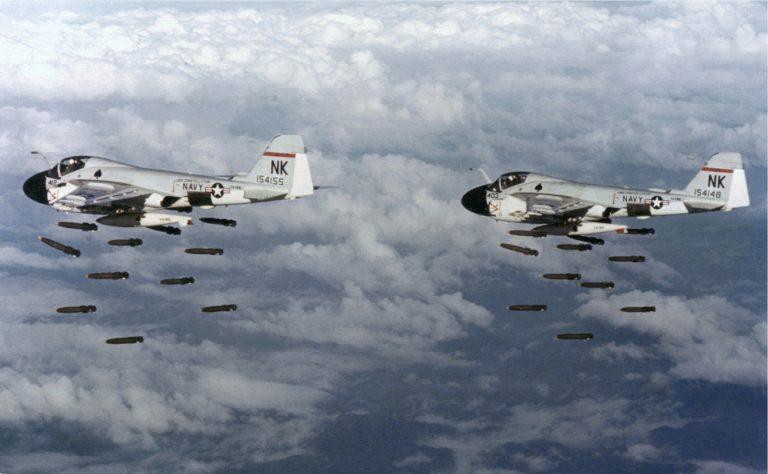американские истребители-бомбардировщики