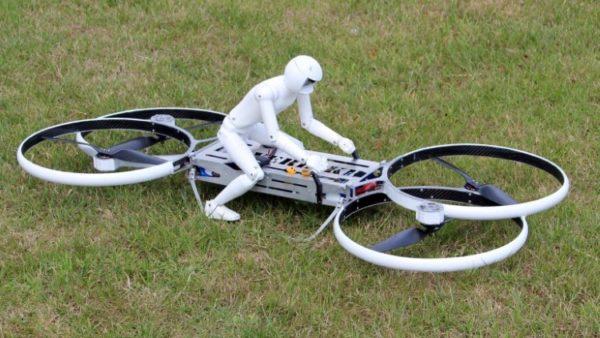 воздушный мотоцикл-беспилотник