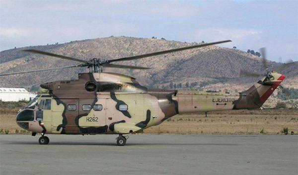 вертолёты Puma