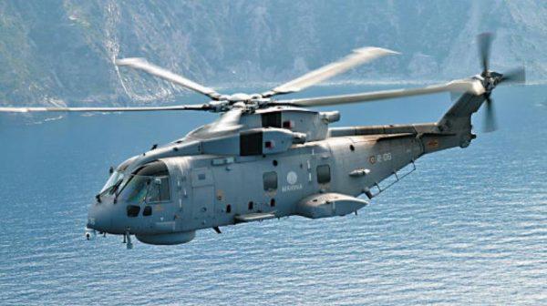 Англо-итальянский многоцелевой вертолёт Agusta Westland AW101