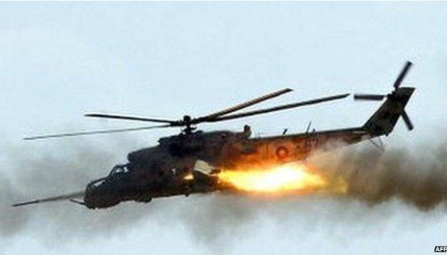 сбитый нагорно-карабахский вертолёт