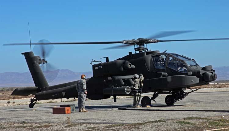 Создание McDonnell Douglas AH-64 Apache