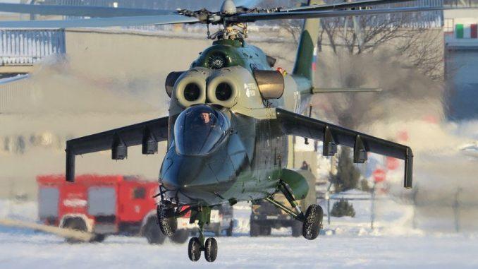 Боевой вертолёт Ми-24