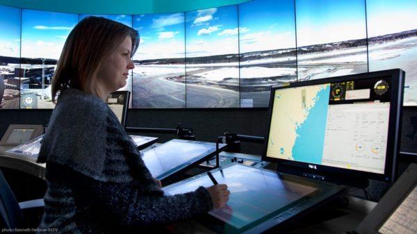 аэропорт с дистанционным управлением