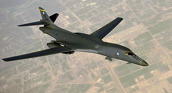 В-1В «Лансер» — стратегический бомбардировщик США