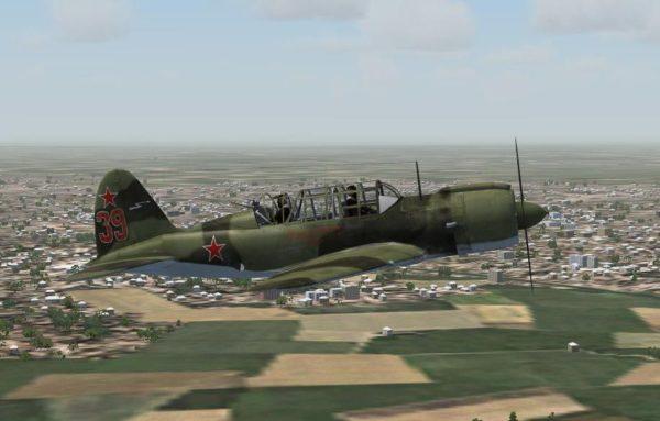 Легкий бомбардировщик-разведчик Су-2