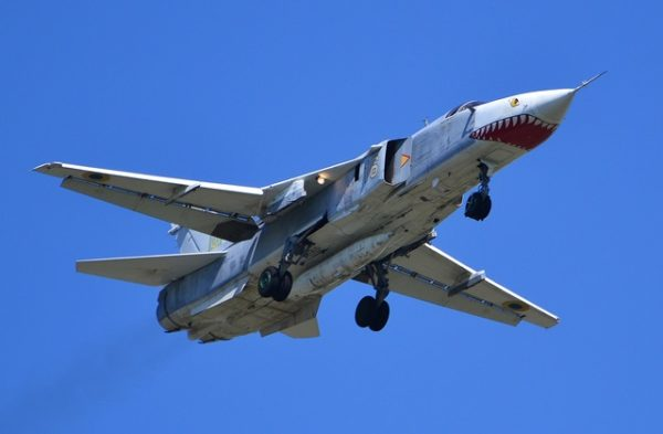 Фронтовой-бомбардировщик Су-24