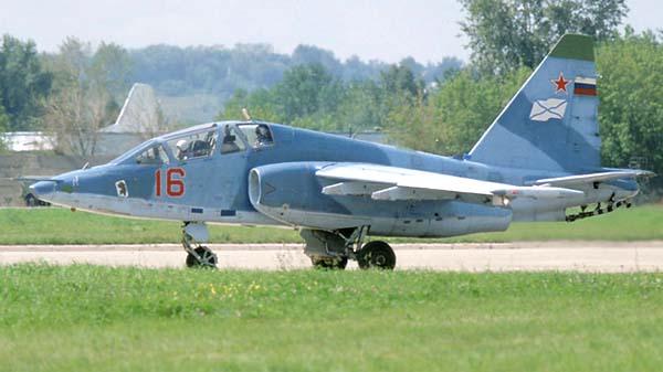 Учебно-тренировочный самолет Су-25УТГ