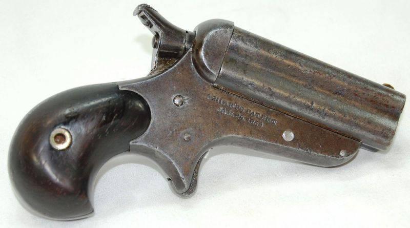 пистолеты Шарпс