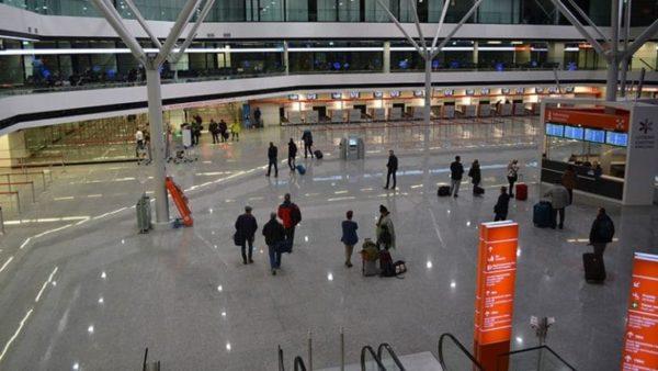 В обновленном терминале аэропорта