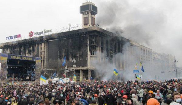 кровавый переворот на Украине