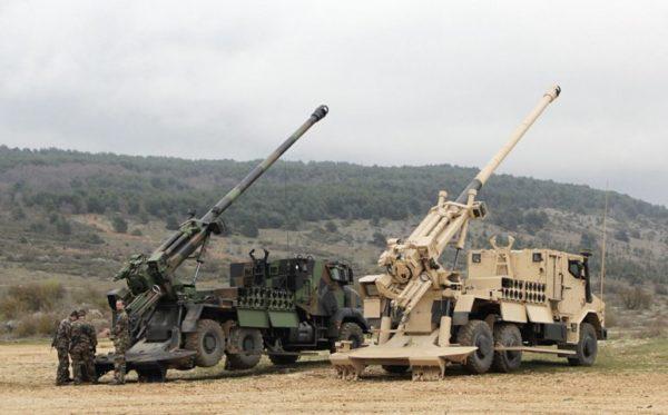 Французская 155-мм САУ CAESAR