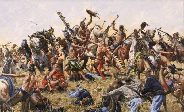 Битва при Роузбад: индейцы против индейцев
