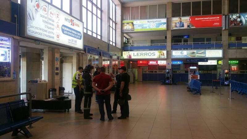 В аэропорту Одесса