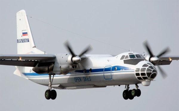 Самолет аэрофоторазведки Ан-30