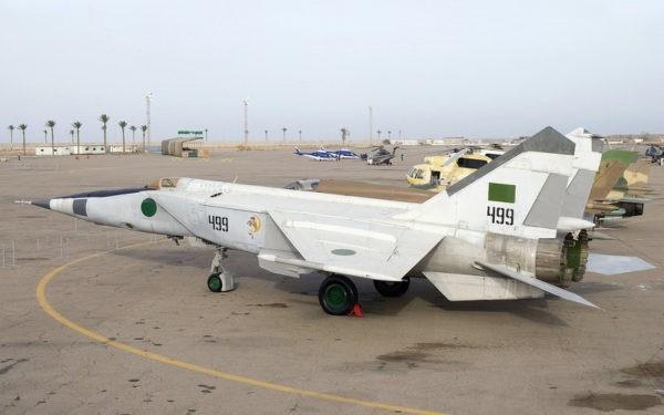 Ливийские МиГ-25: мощные «Летающие лисицы» снова поднимаются в небо