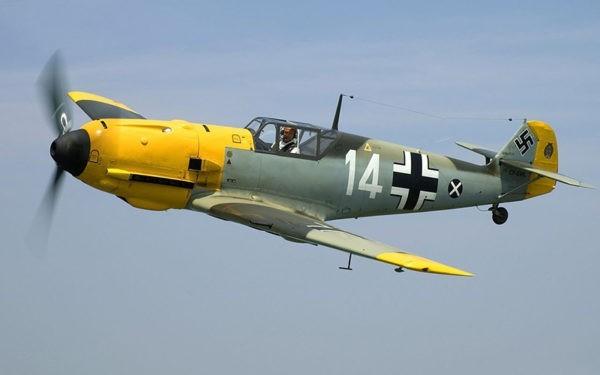 Мессершмитт Bf 109 (Ме-109) — немецкий истребитель Второй мировой войны