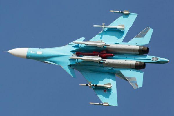Су-34 — фронтовой бомбардировщик