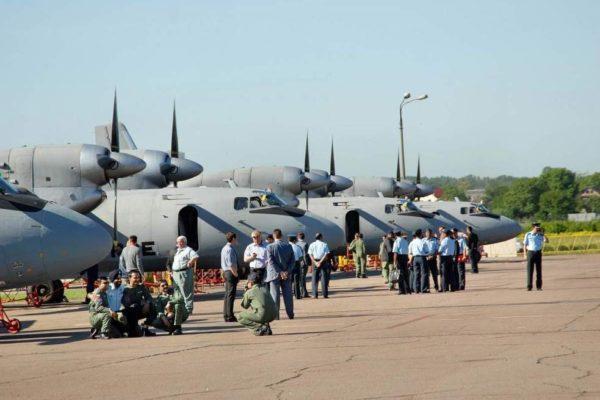 Украина завершила модернизацию 40 самолетов Ан-32 для ВВС Индии