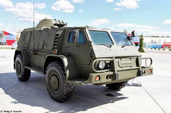 Высокомобильный армейский автомобиль ГАЗ-39371 «Водник»