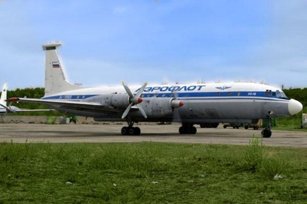 Установка Ил-18Б СССР-48093 в Лосево