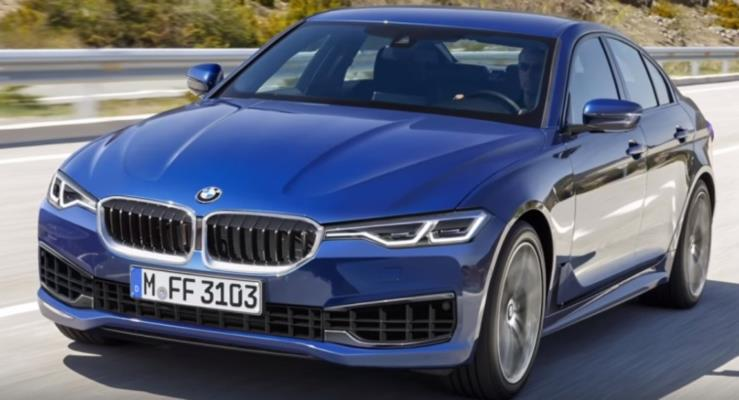 В Сеть «слили» снимки нового универсала BMW