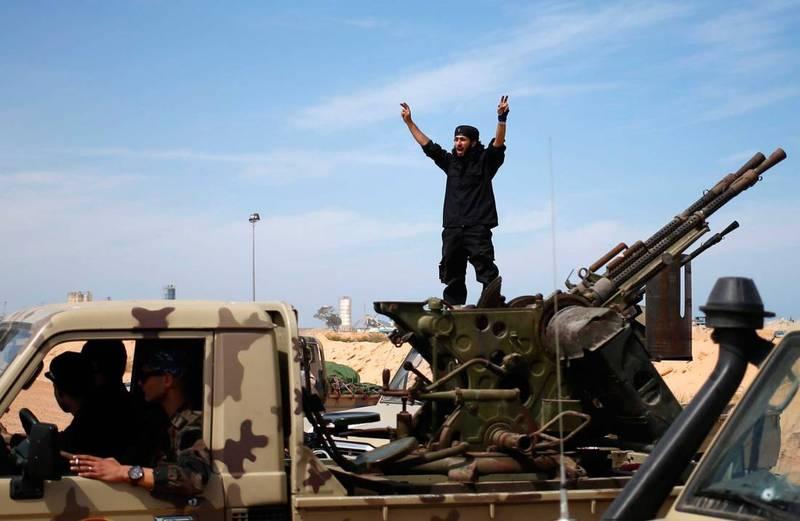 Кремль в ливийском конфликте