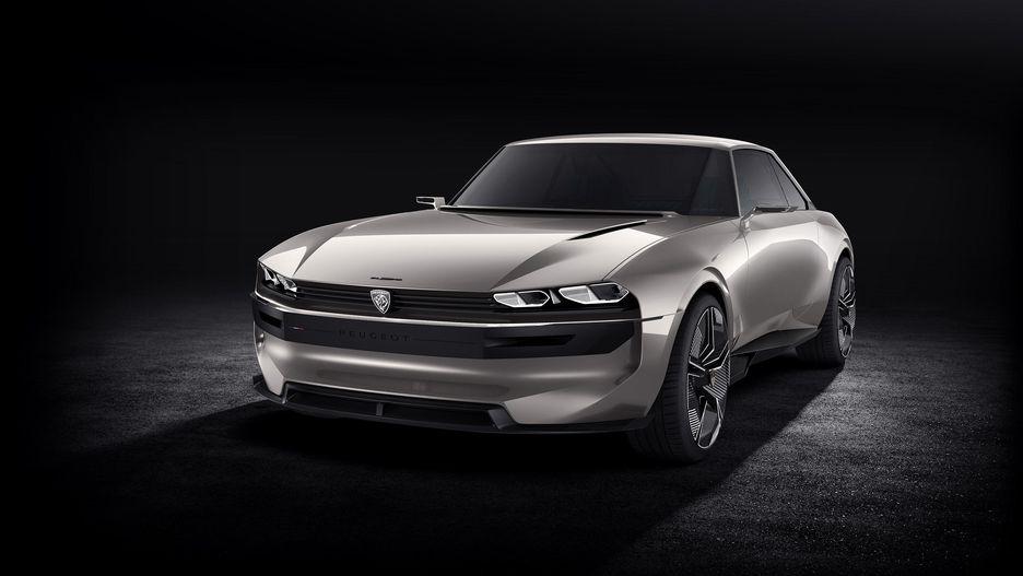 Peugeot показала необычный электрокар