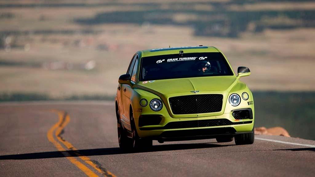 Bentley задумала установить новый рекорд «Пайкс Пика»
