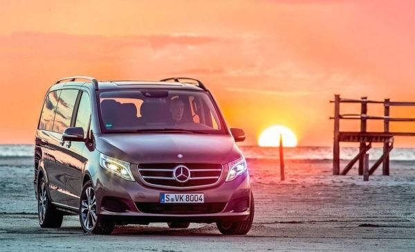 Популярный минивэн Mercedes получил пакет роскошного тюнинга