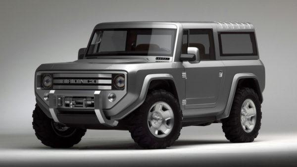 Возрожденный Ford Bronco получит три версии