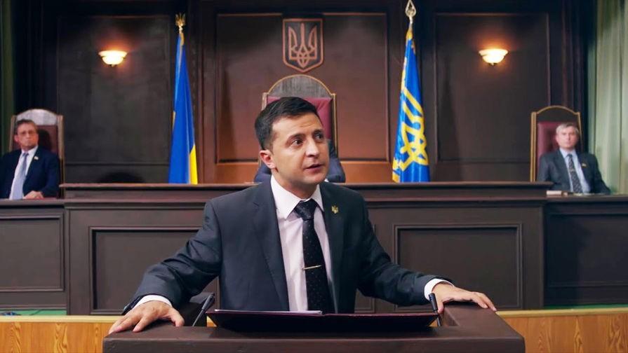 Кандидат в президенты Владимир Зеленский