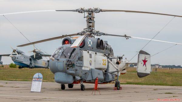 Поисково-спасательный вертолет Ка-27ПС