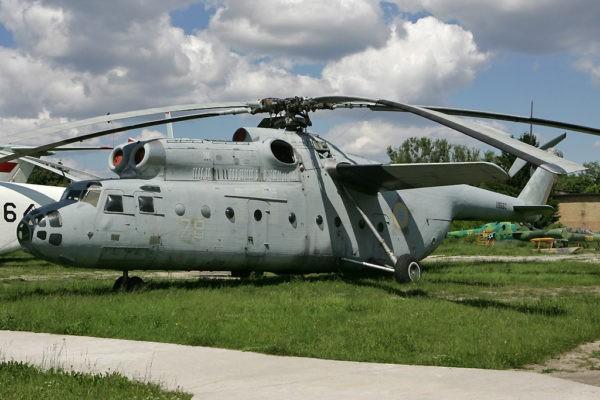 Многоцелевой транспортный вертолет Ми-6