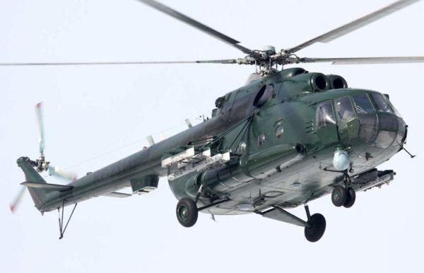 Многоцелевой круглосуточный транспортно-боевой вертолет Ми-8МТКО