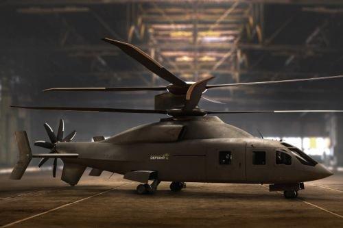 Sikorsky-Boeing продемонстрировал концепцию скоростного вертолета Defiant X