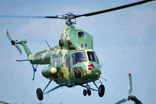 Украина планирует создать палубный вертолет на базе Ми-2